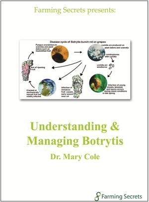 Understanding & Managing                                                             Botrytis