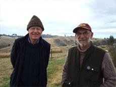 Bruce Davison and Hugo