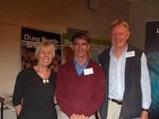 John Feehan with Hugo and Helen