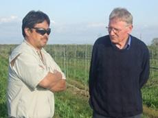 Mark Nakata and Hugo