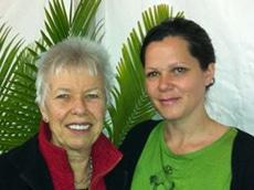 Nicole Masters with Helen